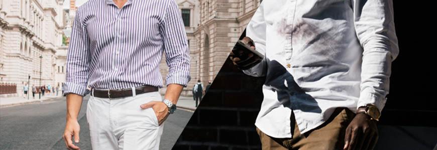 Porter chemise dans le pantalon ou en dehors ?